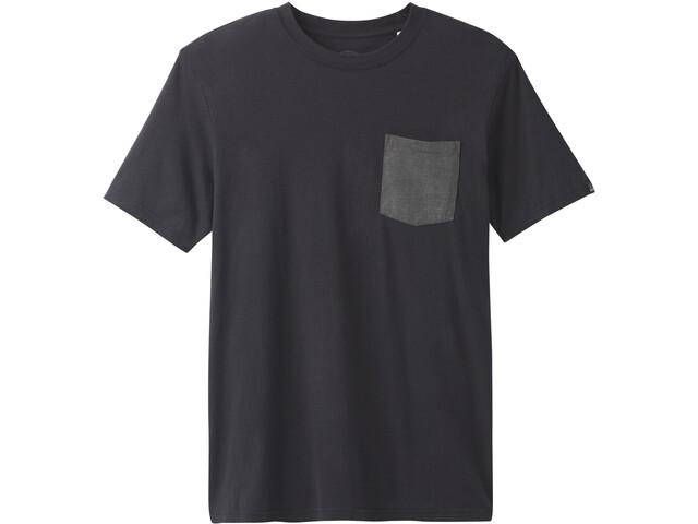 Prana Pocket T-Shirt Herren black